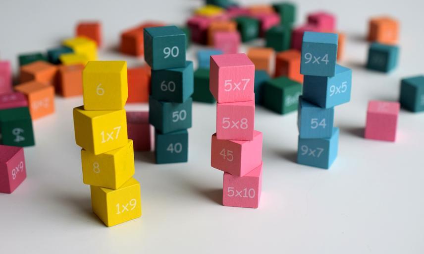 maths blocks